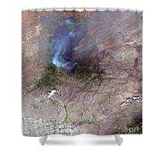 Aspen Fire, Arizona Shower Curtain