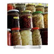 Assorted Spices Shower Curtain
