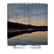 Assynt Reflections Shower Curtain