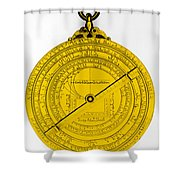 Astrolabe Shower Curtain by Omikron