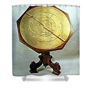 Astrolabe Shower Curtain