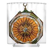 Astronomicum Caesareum With Dragon Shower Curtain