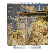 Astronomy In Painting Shower Curtain