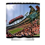 At And T The Stadium Shower Curtain
