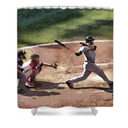 At Bat Shower Curtain