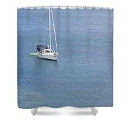 At Honolua Bay On Maui Shower Curtain