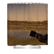 At Mistake Billabong Kakadu National Park Shower Curtain