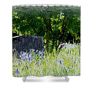 At Rest Shower Curtain by Marilyn Wilson