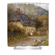 At Symondsbury Near Bridport Dorset Shower Curtain