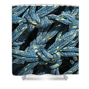 At The Docks Shower Curtain