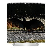 At The End Of Lifes Road Shower Curtain