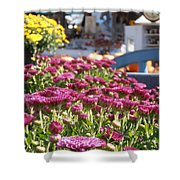 At The Farm Stand Shower Curtain