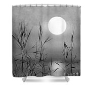 At The Full Moon Shower Curtain