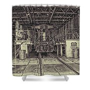 At The Yard Shower Curtain