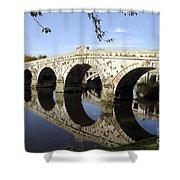 Atcham Bridge Shower Curtain