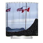 Atlantic Charter Site Shower Curtain
