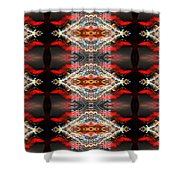 Atlantic City Lights Shower Curtain by Glennis Siverson