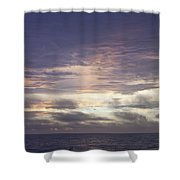 Atlantic Ocean Sunrise 1 Shower Curtain