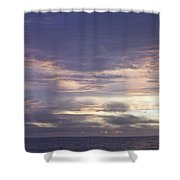 Atlantic Ocean Sunrise 2 Shower Curtain