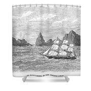 Atlantic: St. Pauls Rocks Shower Curtain