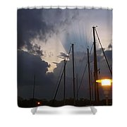 Atmospheric Phenomenon Shower Curtain