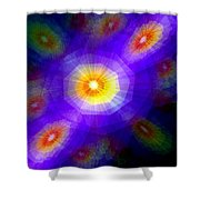 Atomic Litter Shower Curtain