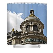 Au Printemps - Paris Shower Curtain