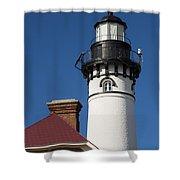 Au Sable Lighthouse 6 Shower Curtain