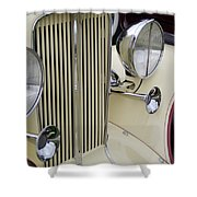 Auburn Grill Shower Curtain