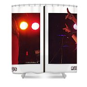 Audio Outlaws - Cross Your Eyes And Focus On The Middle Image Shower Curtain
