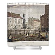 Augsburg, 1823 Shower Curtain