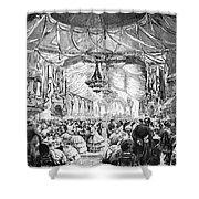 August Belmont (1816-1890) Shower Curtain