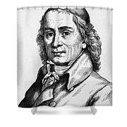 August Hermann Francke Shower Curtain