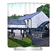 Auld Mill  Shower Curtain