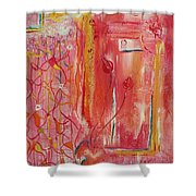 Aura Of Spring Shower Curtain