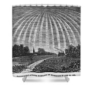 Aurora Borealis, 1837 Shower Curtain