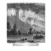 Aurora Borealis, 1868 Shower Curtain