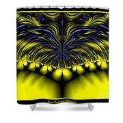 Aurora Borealis Dreams Fractal 58 Shower Curtain