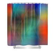 Aurora Borealis Xxii Shower Curtain