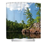 Ausable Chasm 1618 Shower Curtain