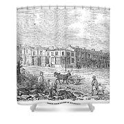 Australia: Melbourne, 1853 Shower Curtain