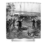 Australia: Rebellion, 1854 Shower Curtain