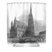 Austria: 1848 Revolution Shower Curtain