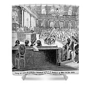 Austrian Assembly, 1848 Shower Curtain