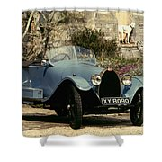 Auto: Bugatti Type, 1925 Shower Curtain