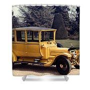 Auto: Daimler, 1913 Shower Curtain