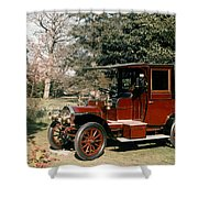 Auto: French Taxi, 1908 Shower Curtain