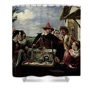 Autolycus Scene From 'a Winter's Tale' Shower Curtain