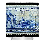 Automobile Association Of America Shower Curtain