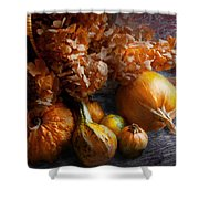 Autumn - Gourd - Still Life With Gourds Shower Curtain